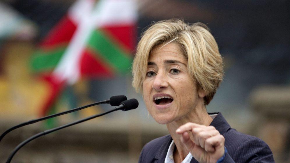 Foto: La candidata a lendakari por Elkarrekin-Podemos, Pili Zabala. (EFE)
