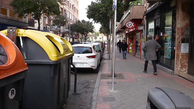 La calle Laguna en Carabanchel, en 2019. (EFE)