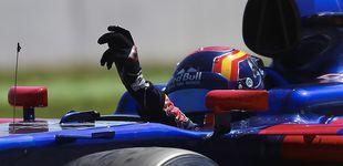 Post de Carlos Sainz, o cómo jugarse 'el cuello' para llamar la atención de Ferrari