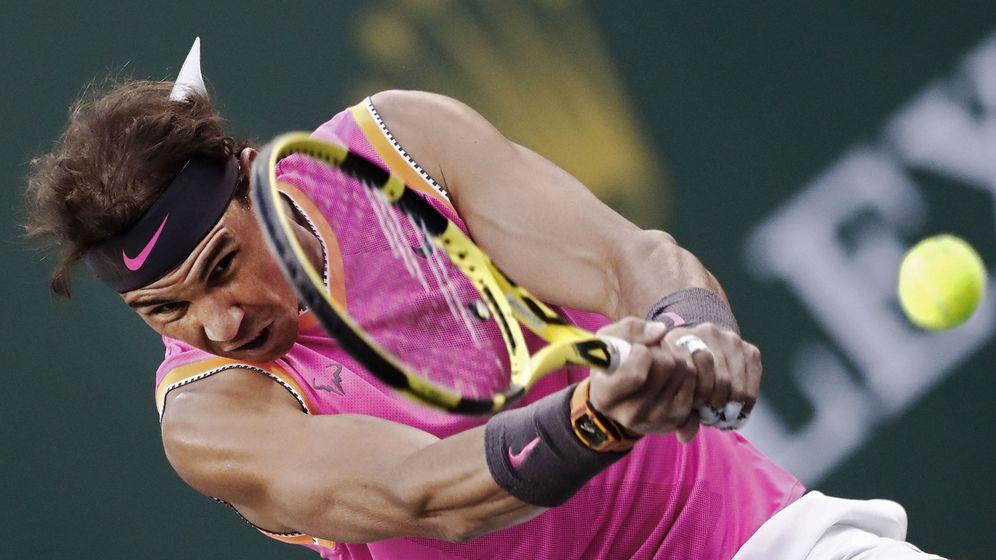Foto: Nadal se exhibe ante Donaldson logrando su mejor triunfo histórico en Indian Wells. (Reuters)