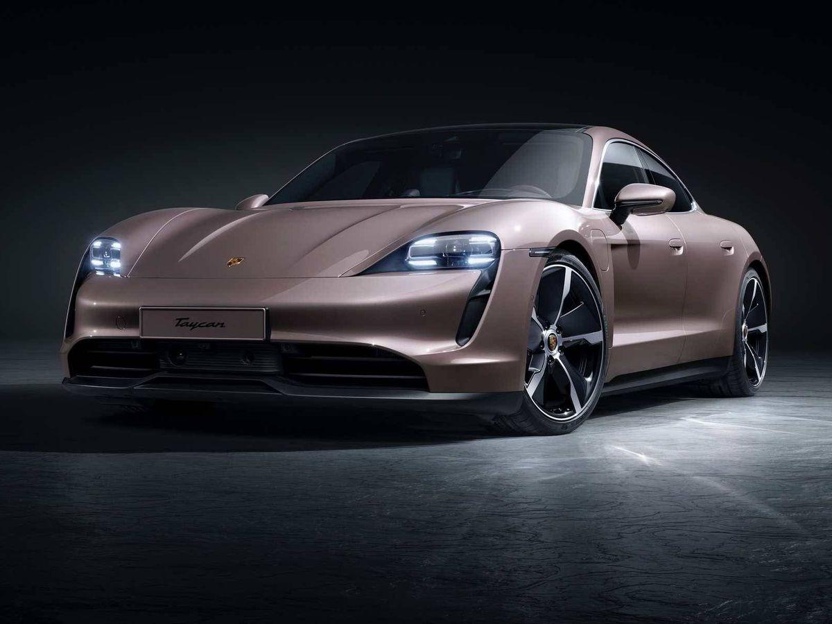 Foto: El Porsche Taycan representa la revolución eléctrica de la marca de Stuttgart.