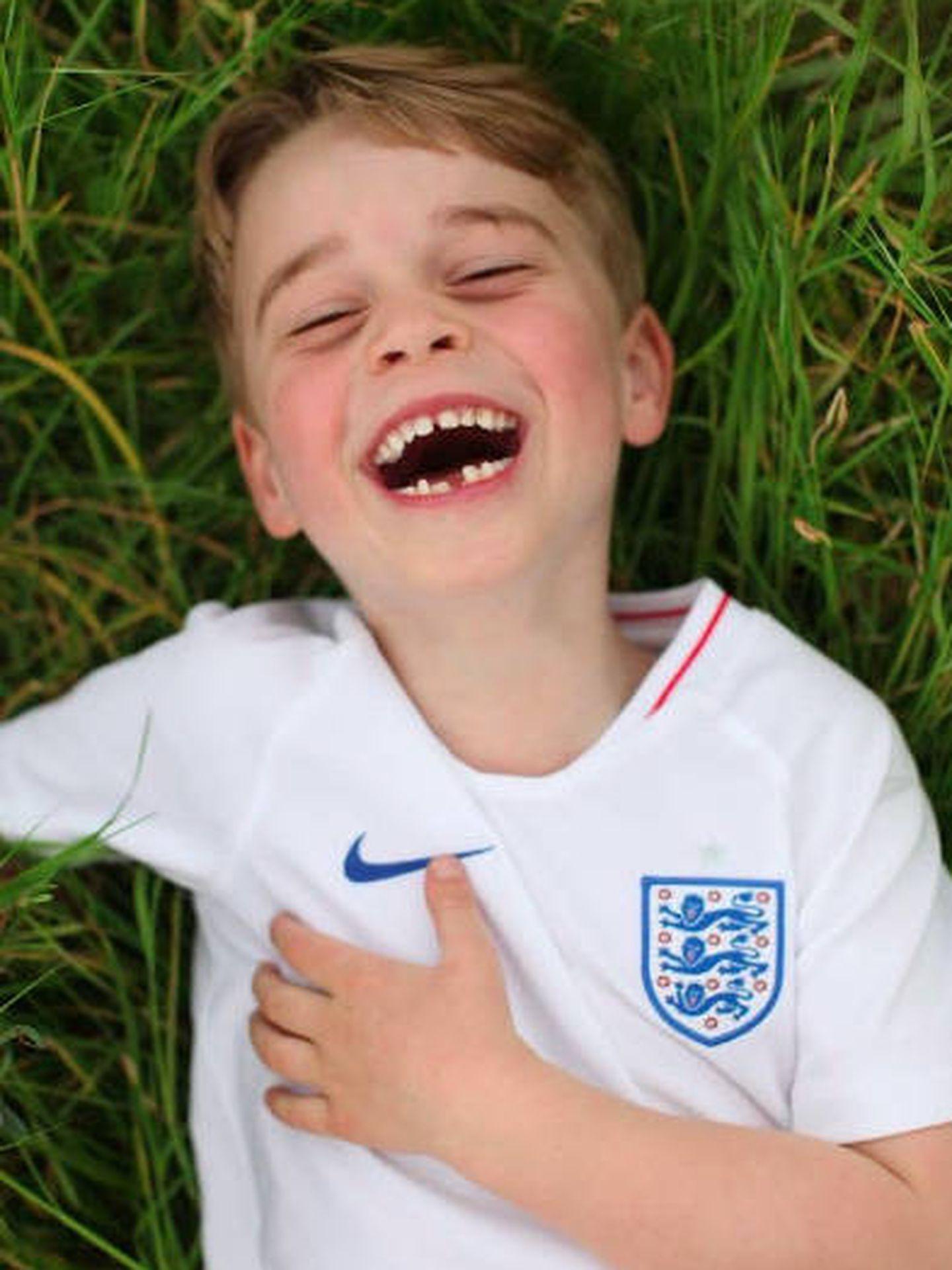 El príncipe George cumple seis años. (@kensingtonroyal)