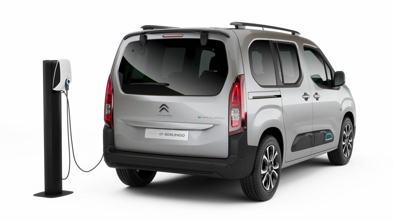 El Citroën ë-Berlingo, como los otros cinco vehículos comerciales y polivalentes de mecánica eléctrica que empiezan a fabricarse en Vigo, comparten la batería de 50 kW y admiten recargas de hasta 11 kW de potencia.