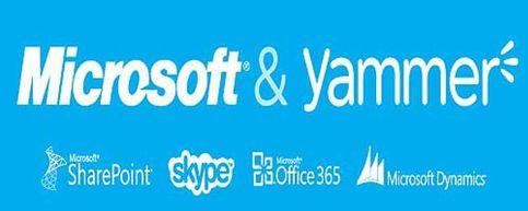 Foto: Microsoft planta cara a Facebook y compra la red social para empresas Yammer