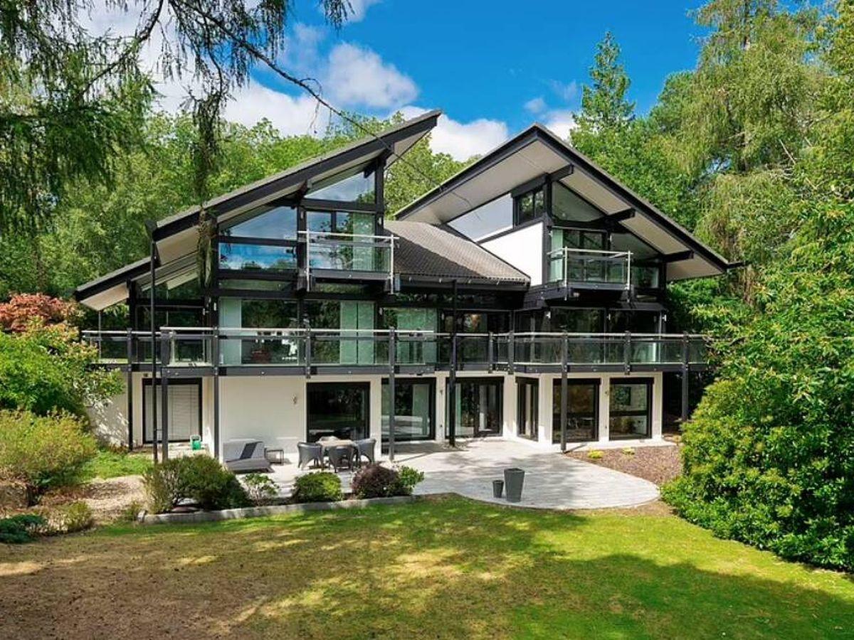 Foto: La casa Huf Haus de Antonio Banderas. (Savills)
