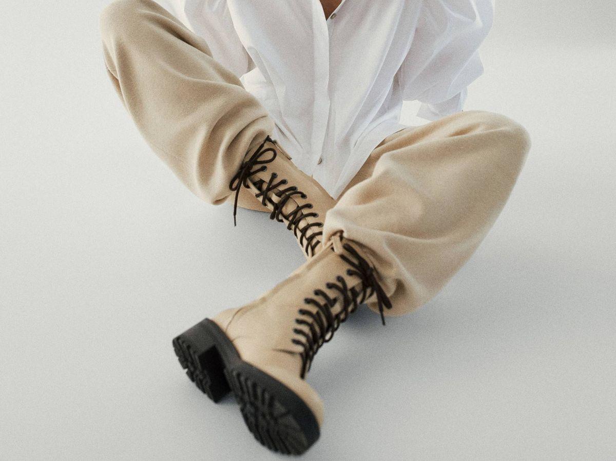 Foto: Estas son unas de las botas de Massimo Dutti por las que deliramos. (Cortesía)