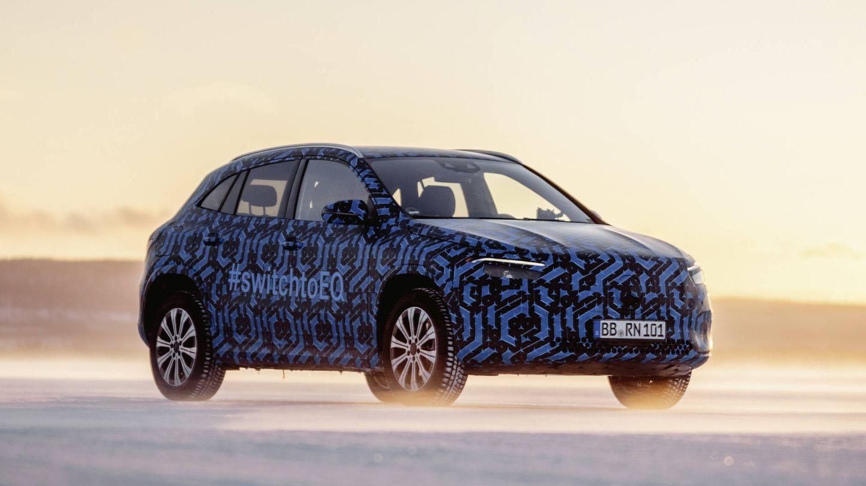 El Mercedes EQA esta previsto que debutara en Ginebra.