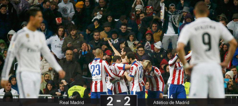 Torres y el Atlético borran a un Madrid que cometió dos veces un mismo fallo capital