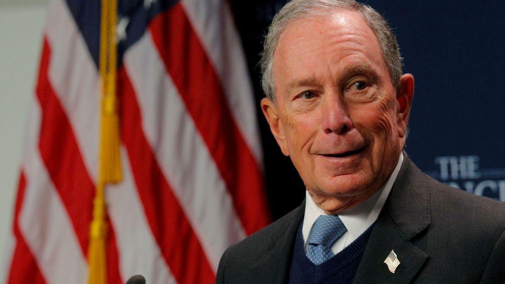 Foto: El exalcalde de la ciudad de Nueva York, Michael R. Bloomberg. (Reuters)