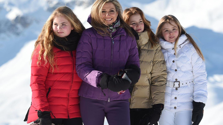 Máxima y sus chicas. (Reuters)
