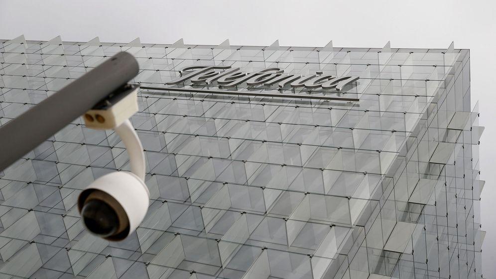 Foto: Fachada de la sede corporativa de Telefónica. (EFE)