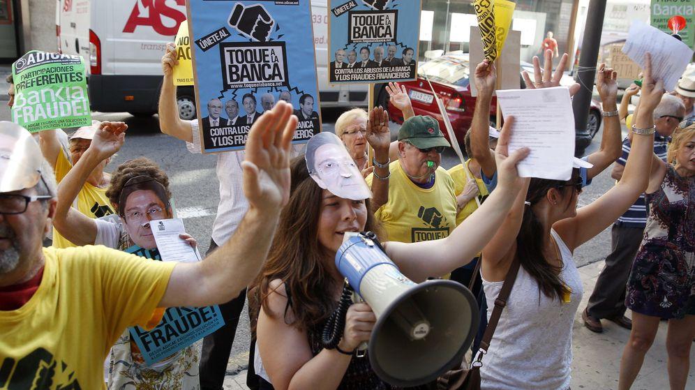 Foto: Manifestación contra Bankia. (EFE)