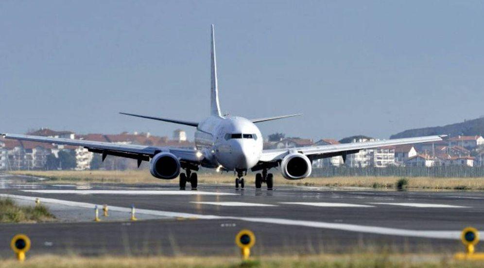 Foto: Aeropuerto de Hondarribia. (EFE)