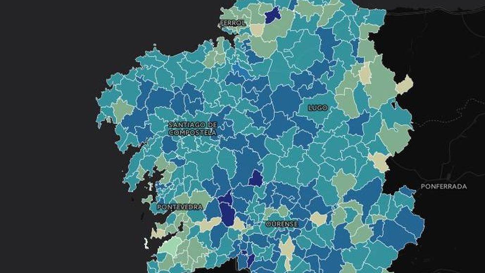 ¿Dónde y por cuánto ganó Feijóo? Logra un 40% de ventaja en cien municipios