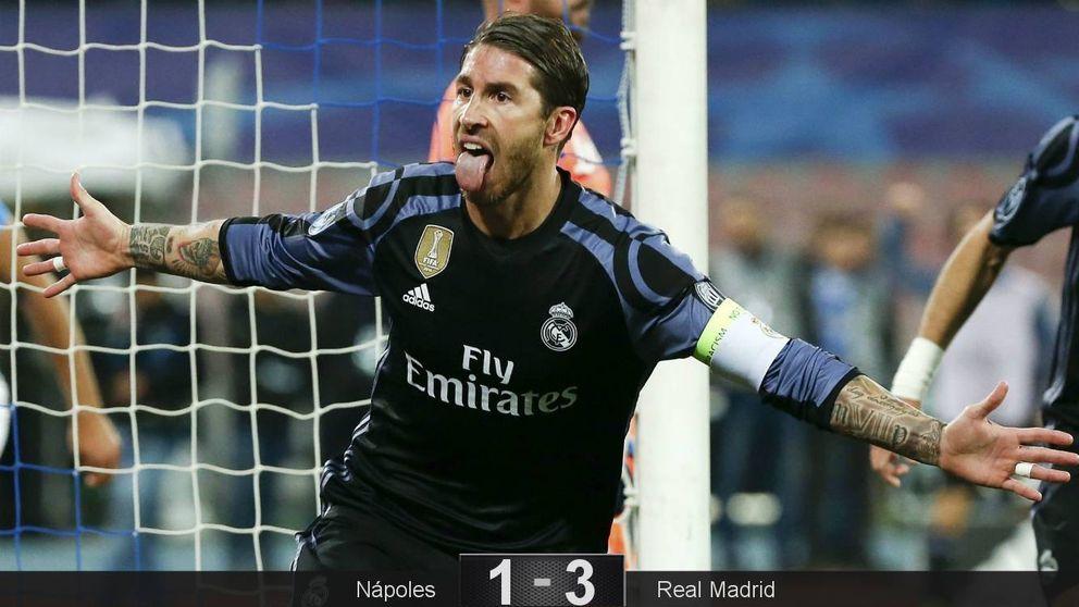 Sergio Ramos vuelve a rescatar al Real Madrid y lo mete de cabeza en cuartos