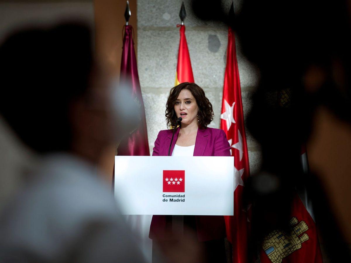 Foto: La Presidenta de la Comunidad de Madrid, Isabel Ayuso. (EFE)