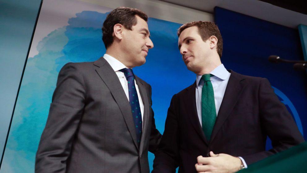 Casado: Vox tiene que decidir si tiene una posición pasiva o activa en Andalucía