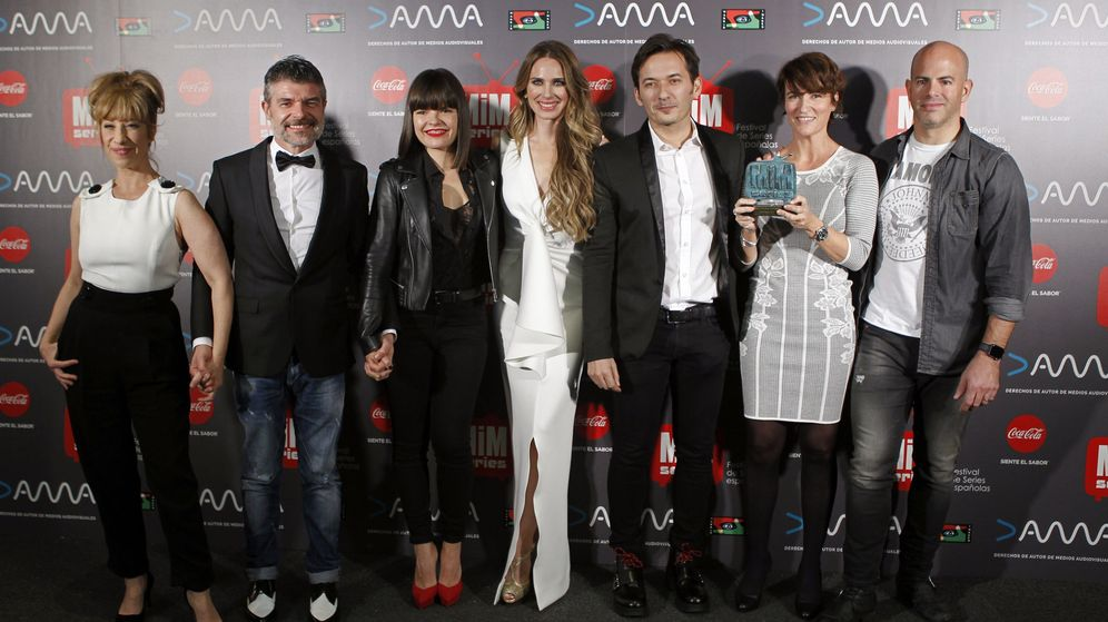 Foto: El equipo de 'La que se avecina' en la entrega de los premios Mim.