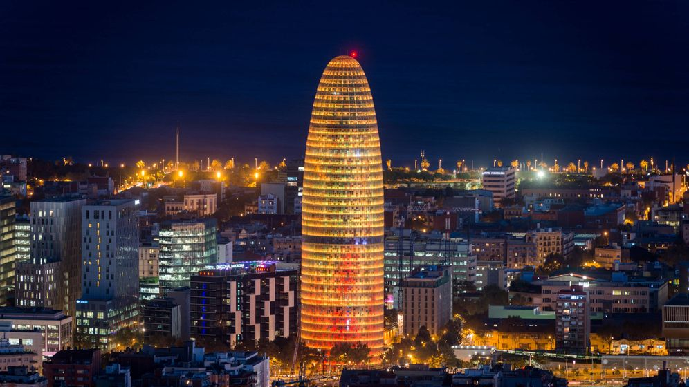 Foto: Torre Agbar acaba de ser adquirida por Merlin Properties