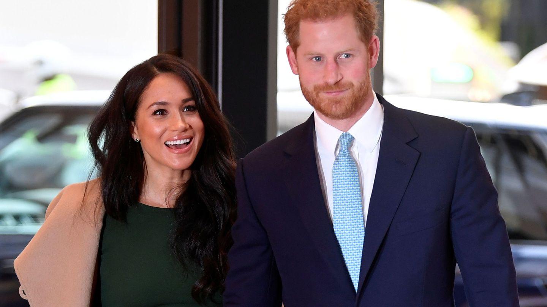 El príncipe Harry y Meghan Markle, en su última aparición conjunta. (Reuters)