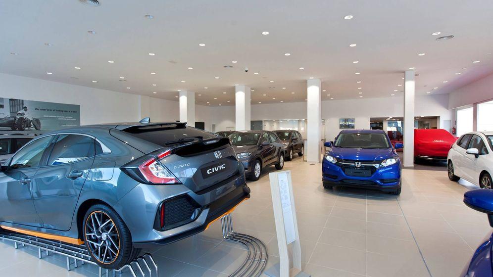 Foto: Imagen del concesionario oficial Center Auto de Honda en Valencia.