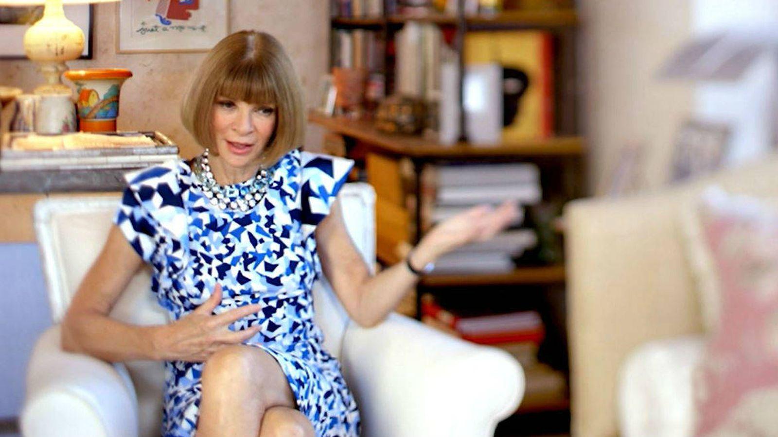 Foto: Anna Wintour, protagonista de la nueva apuesta de Ten