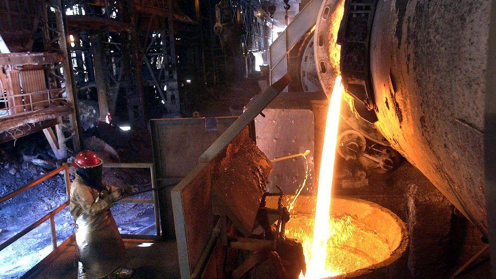 Foto: Fundición de cobre (EFE)