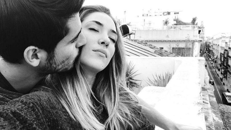 Foto: Álvaro Morata y Alice Campello en una imagen de Instagram