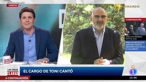 El irónico análisis de Antón Losada sobre Toni Cantó en el programa de Cintora