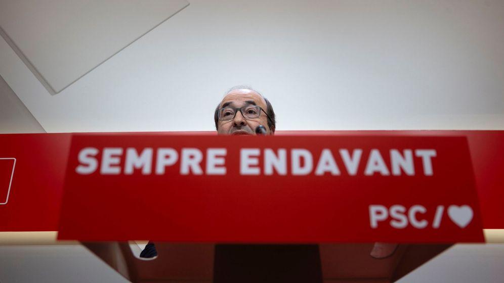 Foto: Carpetazo definitivo del Constitucional al veto independentista a Iceta. (EFE)