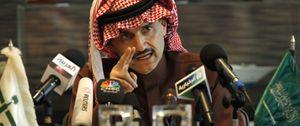 El polémico príncipe saudí Alwaleed, indignado por no entrar en el 'top 10' de los más ricos