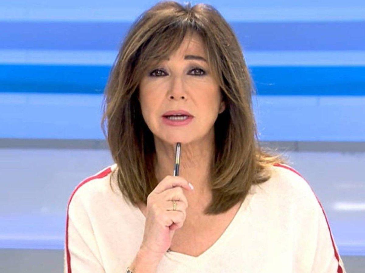 Foto: Ana Rosa Quintana, en 'El programa de AR'. (Telecinco)