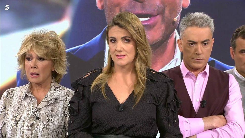 Carlota Corredera llora en 'Sálvame' al contar la operación de Jorge Javier