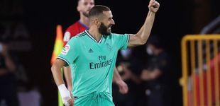 Post de El Real Madrid pasa de la brillantez a los apuros en Granada y ya atisba la Liga (1-2)