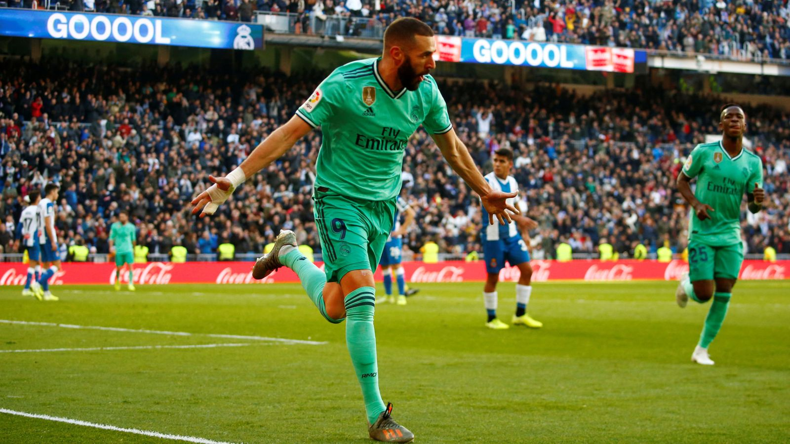 Foto: La liga santander - real madrid v espanyol