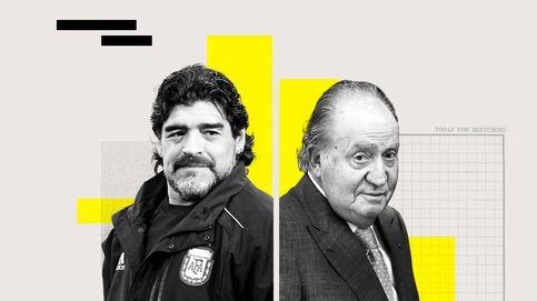 Juan Carlos I fue accionista del Ibex vía Suiza y la muerte del mito Maradona