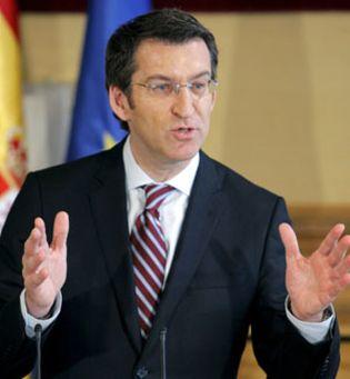 Foto: Feijóo ofrece garantías a Ortega y Jove en el nuevo concurso eólico de la Xunta