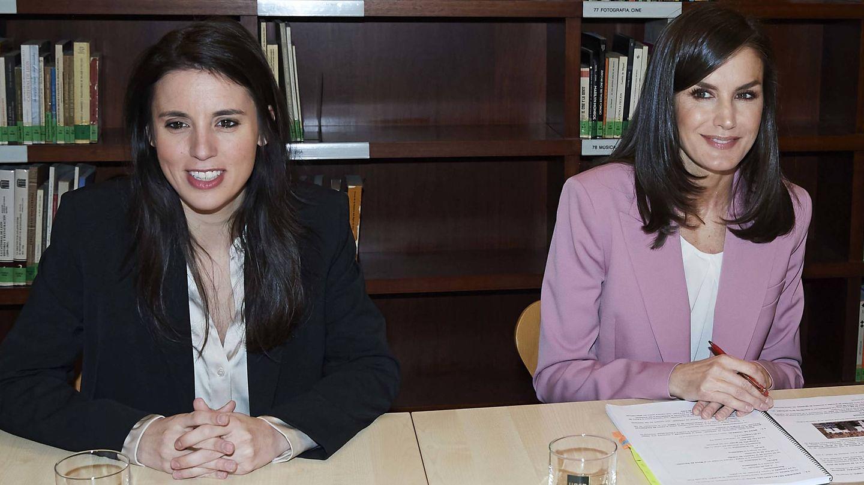 Irene Montero y Letizia Ortiz. (Getty)