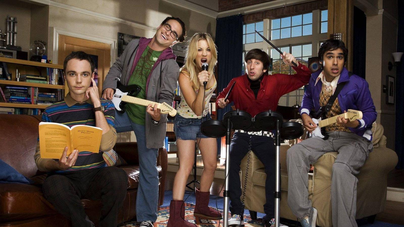 Foto: Imagen promocional de 'The Big Bang Theory'. (CBS)