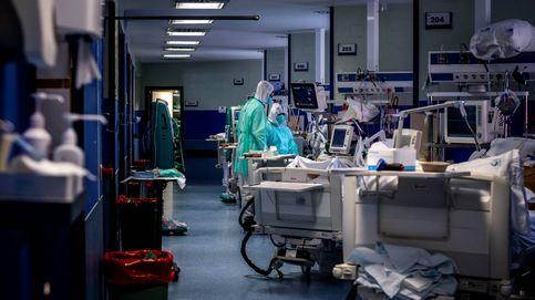 Los pacientes ingresados por coronavirus son más jóvenes y sanos que los de la gripe