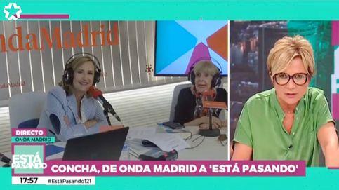 Pullas de Concha Velasco e Inés Ballester en Telemadrid a causa de 'Cine de barrio'