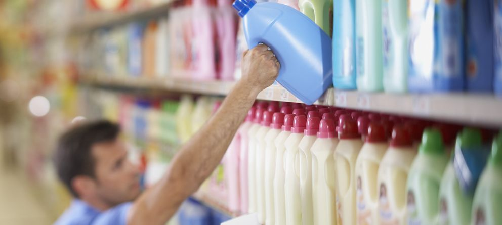 Foto: Los detergentes son algunos de los artículos con más altas concentraciones de estas sustancias químicas dañinas. (Corbis)