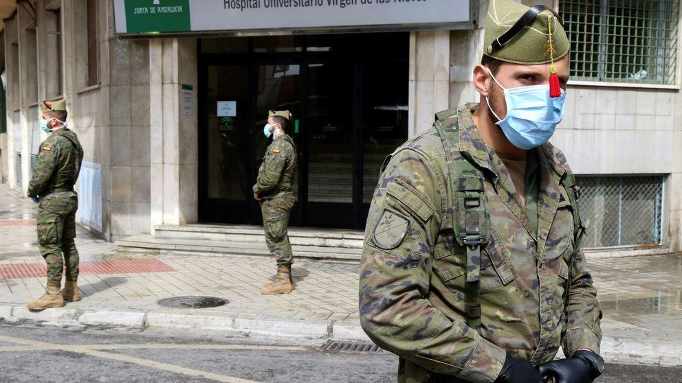 El padre de un legionario muerto dona al Ejército 10.000 mascarillas