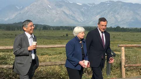 El euro se va a máximos desde 2015 tras el silencio de Draghi y Yellen sobre los tipos