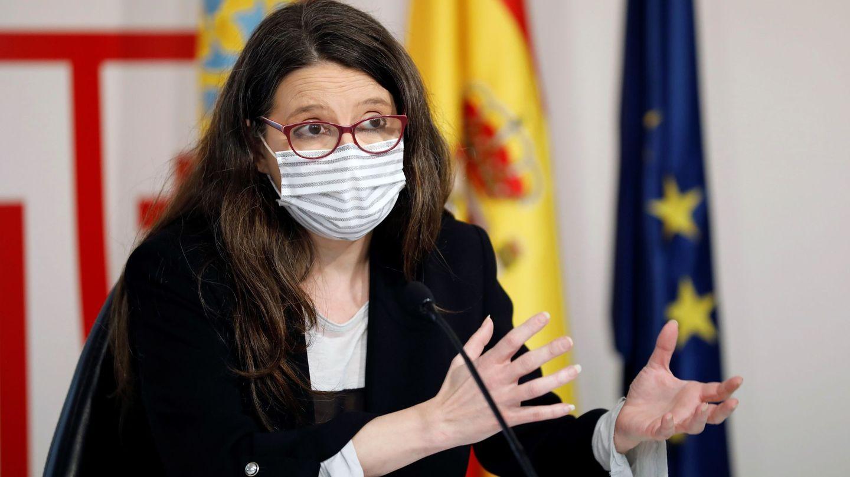 La actual vicepresidenta y Portavoz del Gobierno valenciano, Mónica Oltra, en una imagen reciente. (EFE)