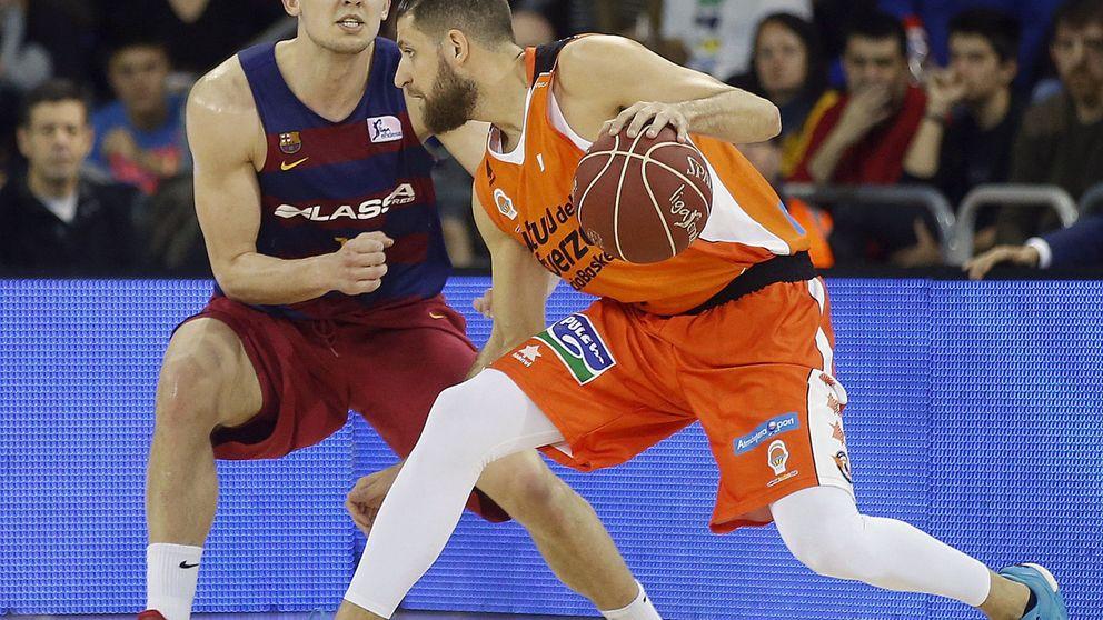 El Valencia Basket conquista el Palau y cierra la primera vuelta invicto
