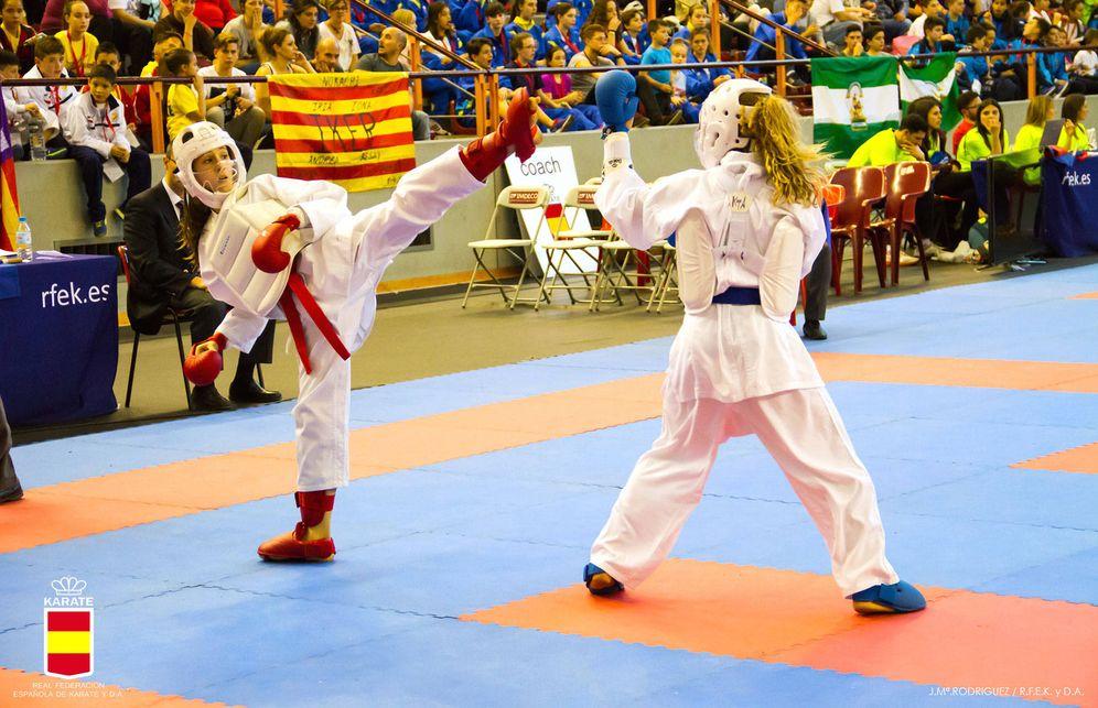 Foto: Claudia López en el Campeonato de España de este año.