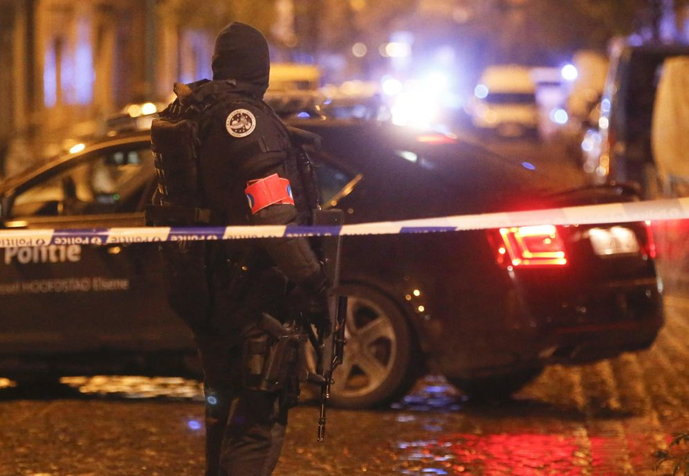Foto: Operación en Bélgica contra los yihadistas