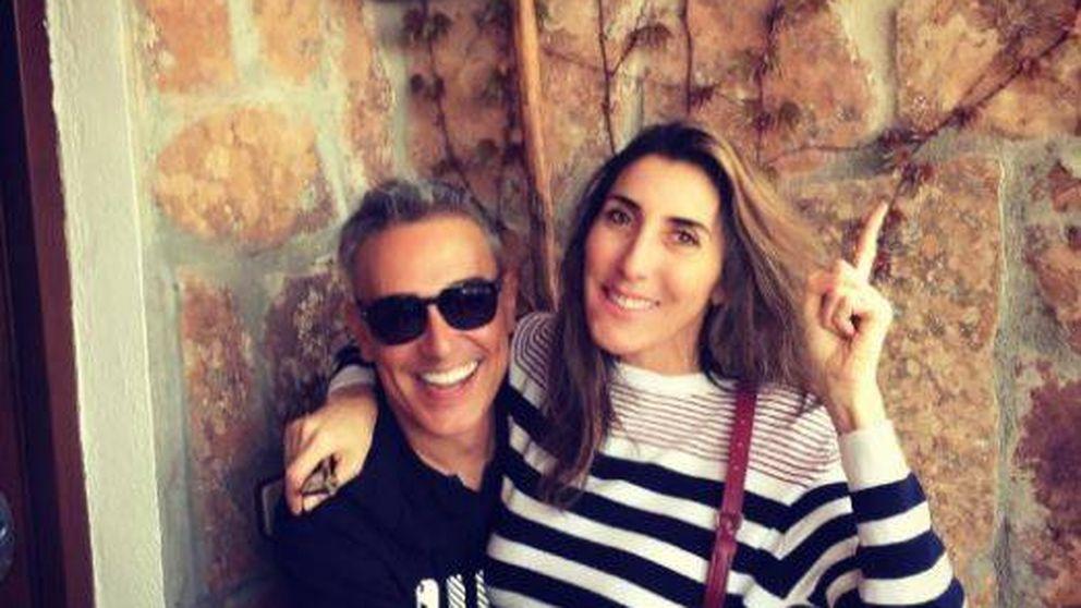 Paz Padilla hace 'pellas' en 'Sálvame' para conocer a las hijas de Kiko Hernández