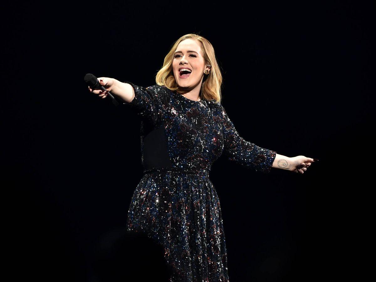 Foto: Adele. (Getty)